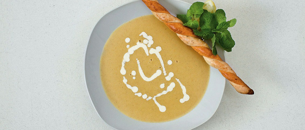 ДЕНЬ ПЕРВОГО БЛЮДА. Согревающие супы. Чечевичный суп с мятой