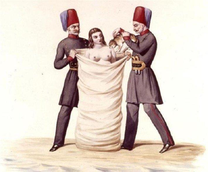 4. Турция древний мир, интересно, история, наказание за измену, неверность, супруги