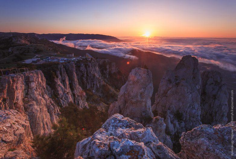 В подоблачной выси: гора Ай-Петри Ай-Петри,из первых уст,Крым