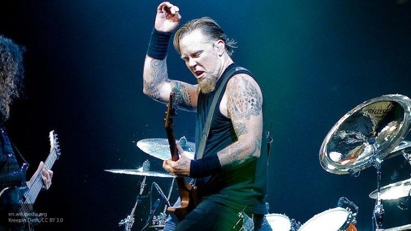 Фронтмен Metallica Хэтфилд проведет с поклонниками встречу в США после реабилитации