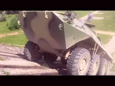Колесная машина «Крымск» с гибридной энергоустановкой.