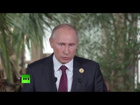 «Атака на свободу слова»: Путин — о требовании властей США к RT зарегистрироваться в качестве иноагента