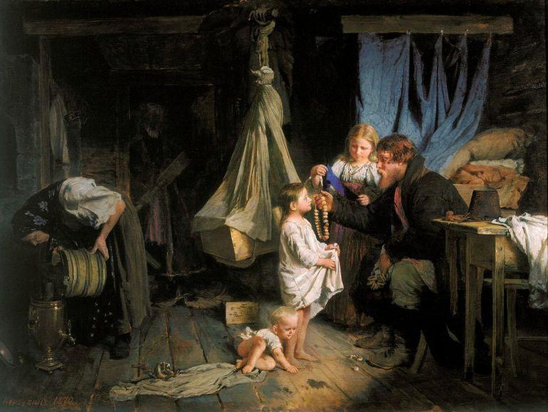 Странные русские традиции семейной жизни