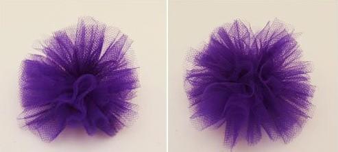 Как сделать цветы для  из фатина