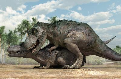 Американские исследователи получили ответ на вопрос, как в действительности занимались сексом динозавры
