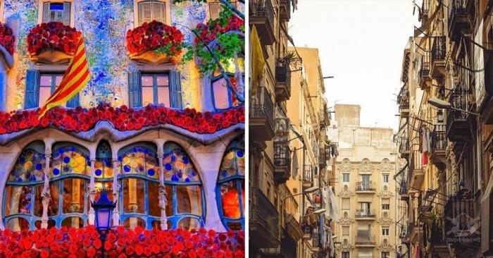 Барселона - один из самых красивых городов Европы