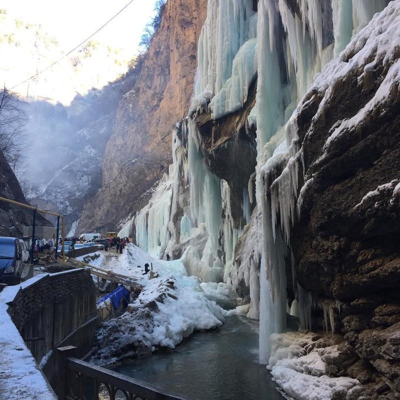 фоторепортаж чегемские водопады первую очередь необходимо