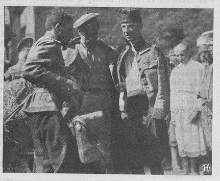 Военнопленные держав Германского блока в 1914 - 1917 гг. в руках русской армии. Часть 2. Австро-венгры