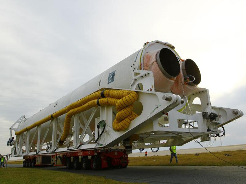 Почему взорвалась американская ракета-носитель Antares?