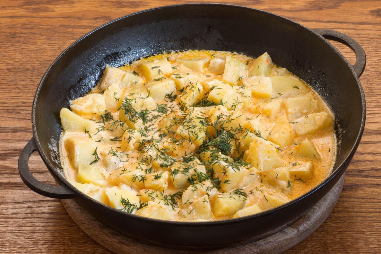 Картофельное блюдо к обеду или ужину