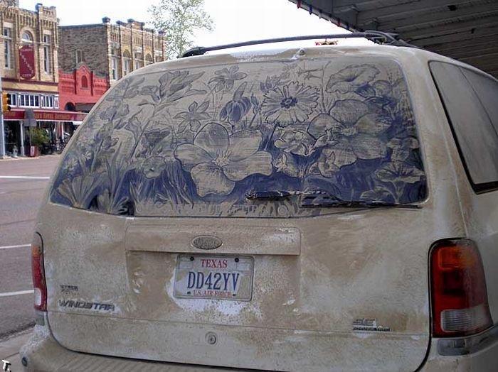 занимаемся прикольные рисунки на стекле авто выпускается таблетках