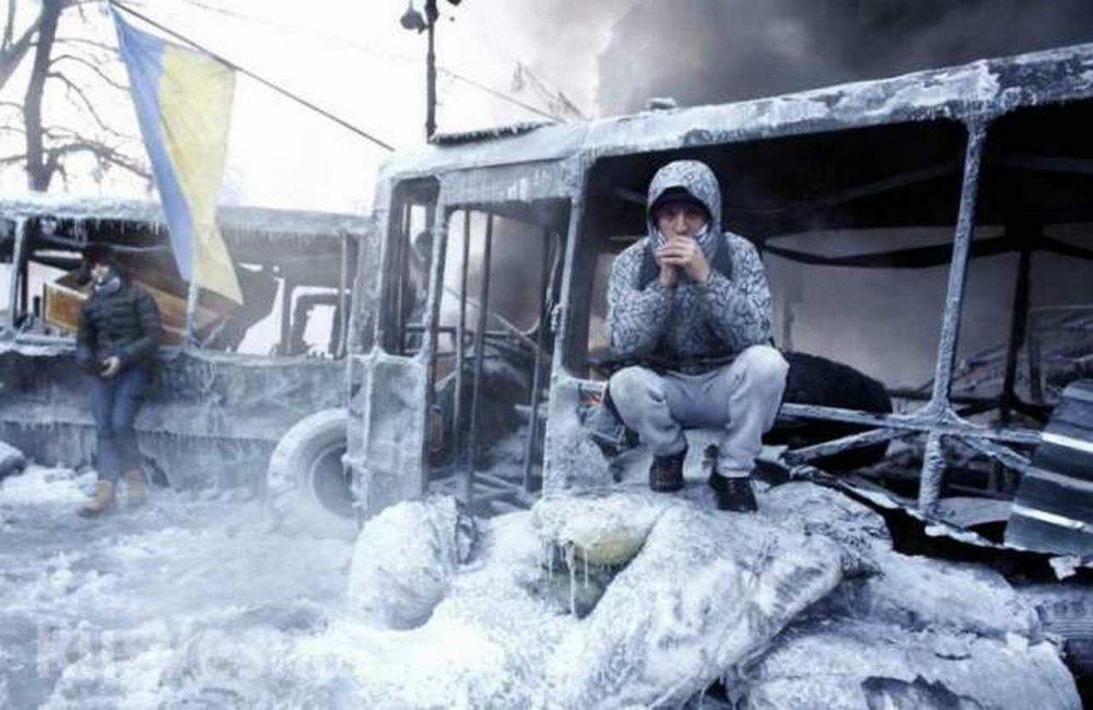 """""""Хлопцы, замерзаем!"""": Украин…"""