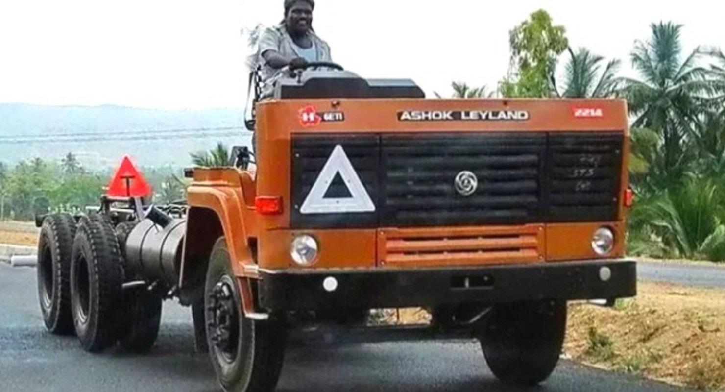 Почему в Индии популярны грузовики без кабины? Автомобили
