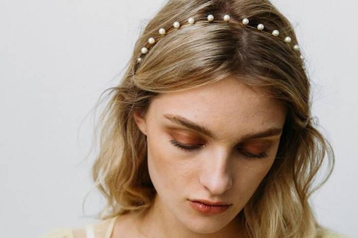 Элегантный обруч для волос своими руками: инструкция пошагово