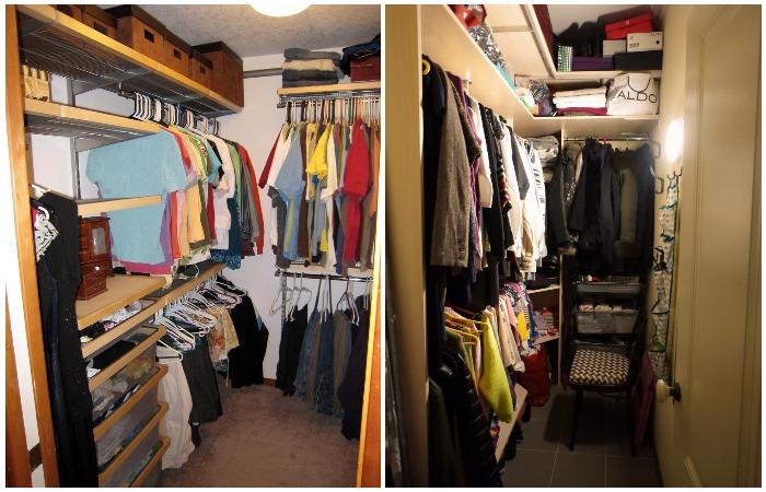 Как оборудовать гардеробную в просторной квартире и в маленькой хрущевке