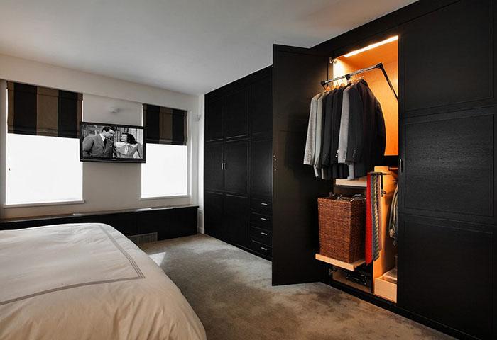 Интерьер спальни от Ken Kelly Bedroom