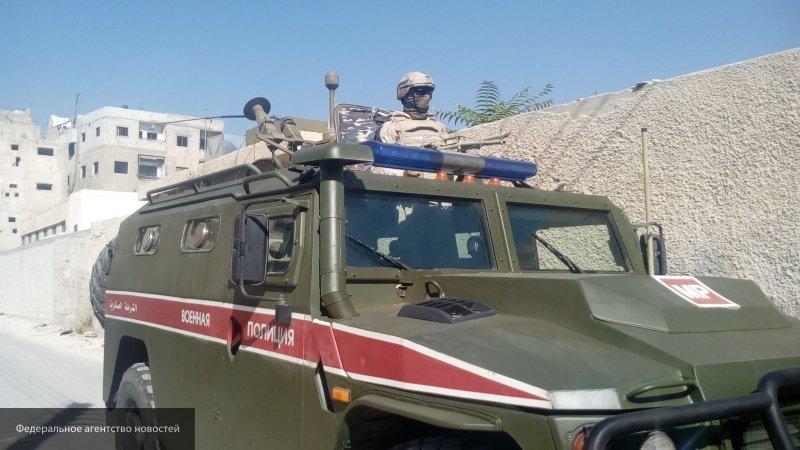 Военная полиция РФ расположилась на оставленной базе США в Сирии