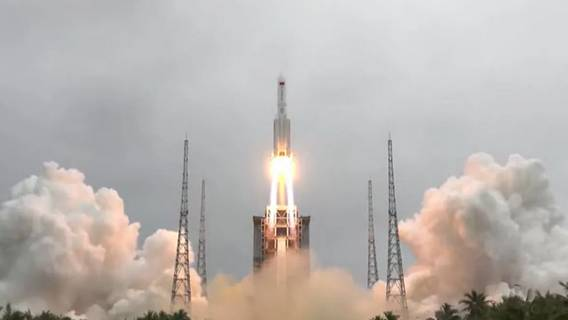 Китай запустил на орбиту первый модуль будущей космической станции орбиту, Китай, продолжительностью, китайских, называют, тайконавты, посетят, станцию, летом, Ожидается, полугода, полетов, пилотируемая, астронавтов, группы, принимать, сможет, годаОбъект, следующего, конце
