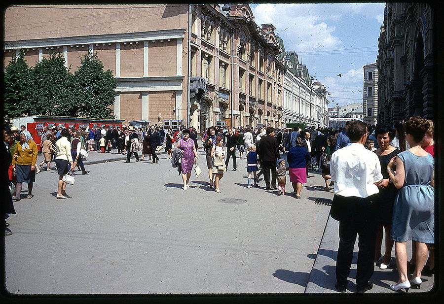 Москва 1969 года в объективе…
