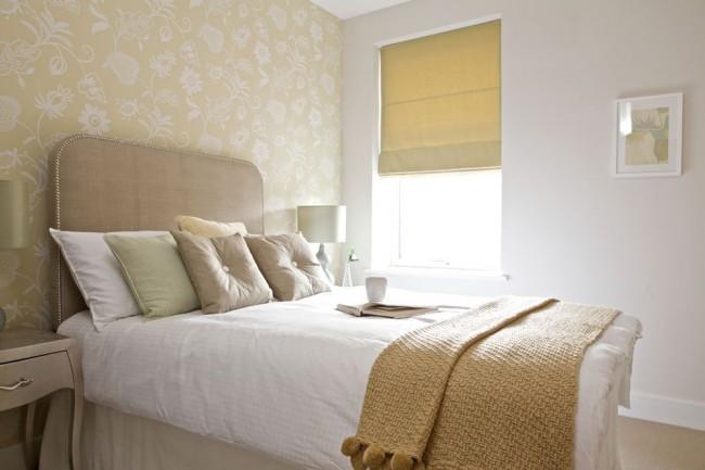 Светлая отделка комнаты не обязательно должна быть именно белого цвета, используются и бежевые, и песочные, и пастельные цвета