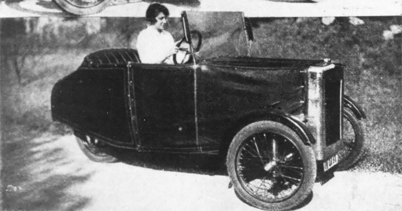 Zaschka Three Wheeler: первая вмире складная машина всего, можно, совсем, автомобиля, Зашка, Энгельберт, машины, хранить, вподвале, другом, укромном, месте, Сборкаразборка, минутВпланах, занимала, секции, Цашки, наладить, серийный, выпуск