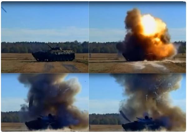 «Джавелин» оставляет от Т-72 одни обломки. Или как провалилась попытка обмана