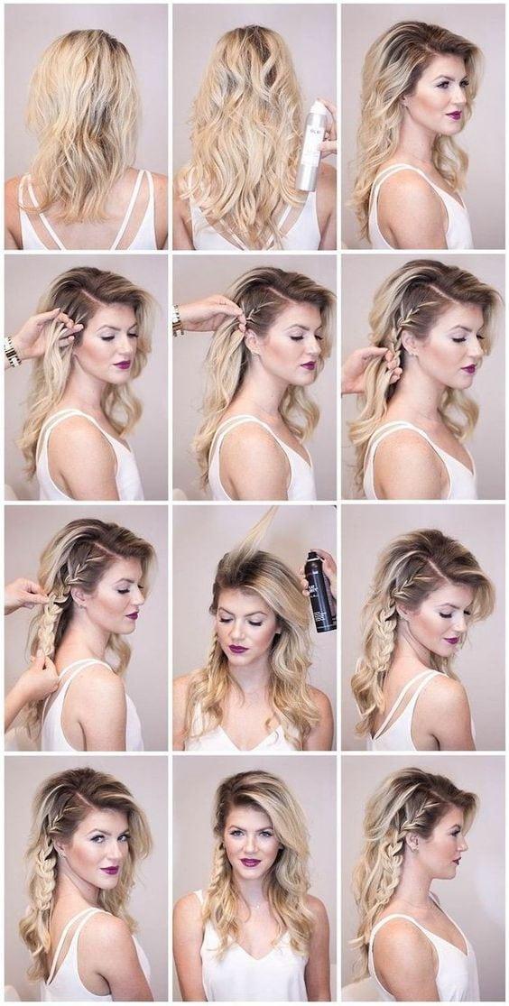Простые идеи быстрых причёсок в офис внешность,иконы стиля,косметика,красота,мода,мода и красота,модные образы,модные сеты,модные советы,модные тенденции,прически,стиль,стиль жизни,стрижки,фигура