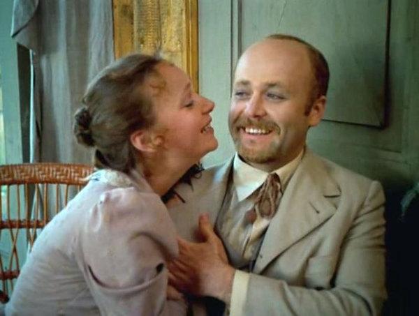 Кадр из их первого совместного фильма