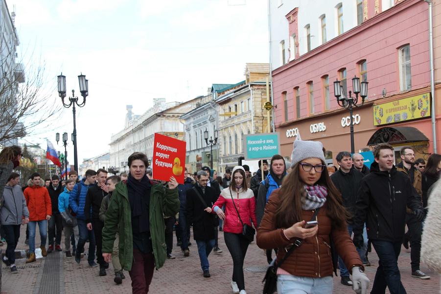 Нужно ли властям бояться школьников, идущих за Навальным? И когда?