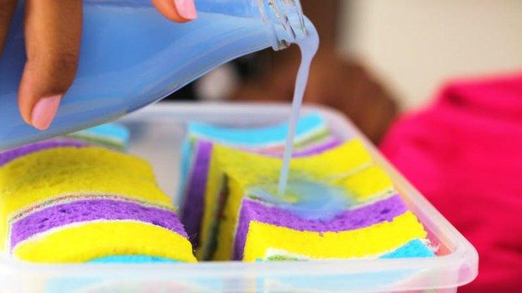 9 лайфхаков с посудной губкой, о которых вы должны знать кухонная губка,лайфхак