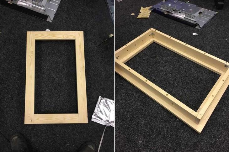 Парень сделал волшебное зеркало своими руками волшебное зеркало