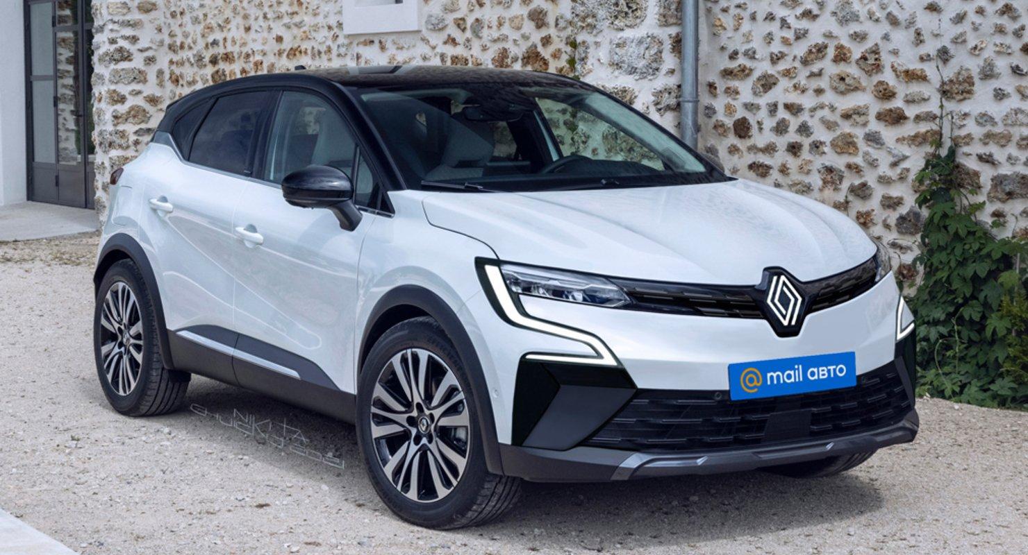 В Сети показали первые изображения кроссовера Renault Kaptur нового поколения Автомобили