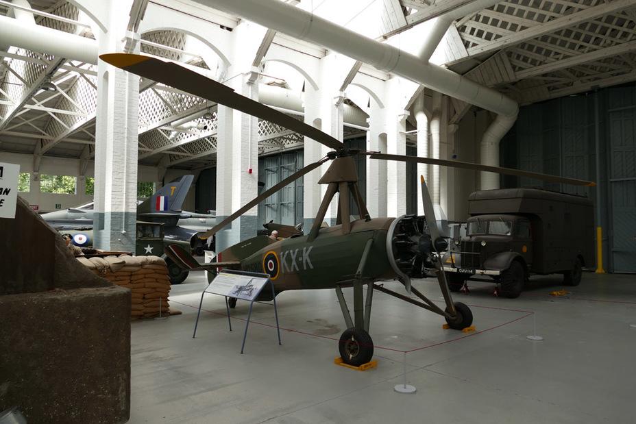 Avro Rota Mk.I, армейская версия Cierva C.30. Этот экземпляр хранится в Имперском военном музее в Даксфорде, Великобритания - Летающие глаза артиллерии | Warspot.ru