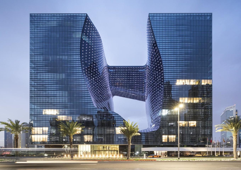 Инопланетный дизайн отеля в ОАЭ от Zaha Hadid архитектура,Заха Хадид,ОАЭ