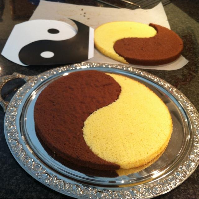 Торт -Инь-Янь-: пошаговый рецепт приготовления и фото десерта