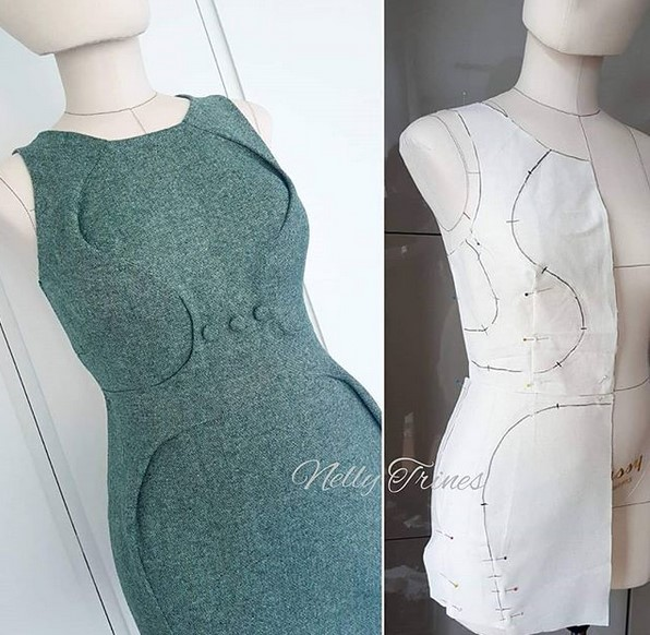 Платья в стиле оригами от японского дизайнера Шинго Сато одежда,рукоделие,своими руками