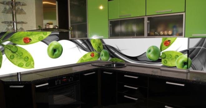 Кухонные фартуки для кухни на стену – существующие варианты, советы по выбору и креплению
