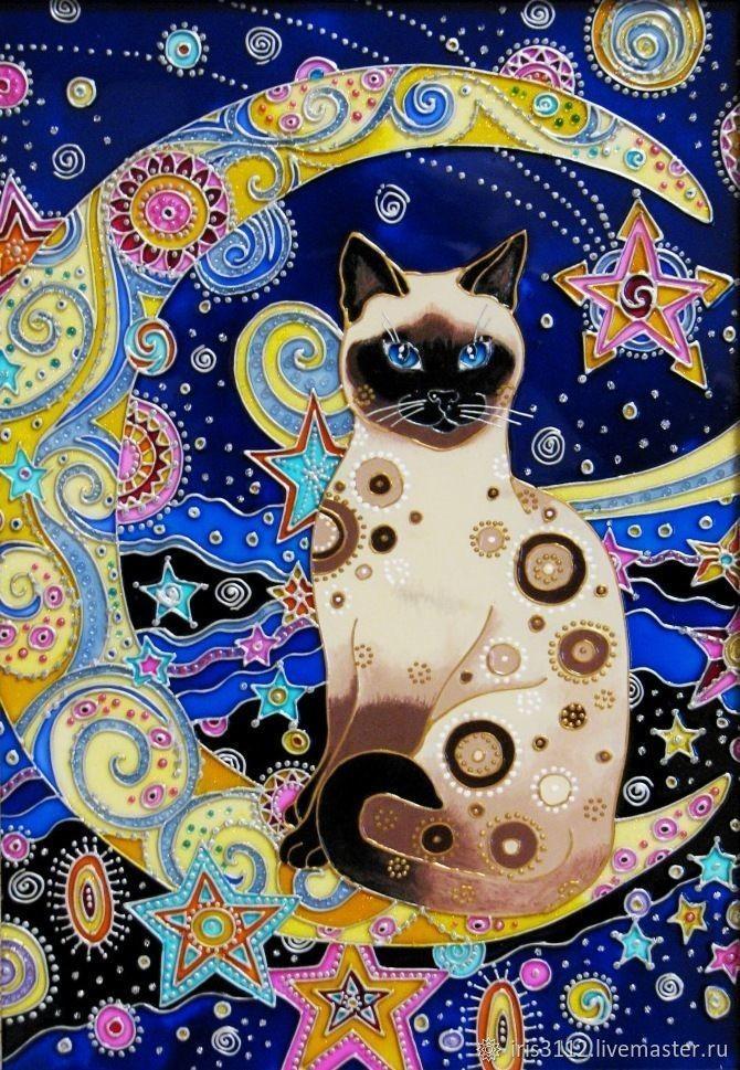 Прекрасные котики.  Автор - Ирина Васильева разное,художество