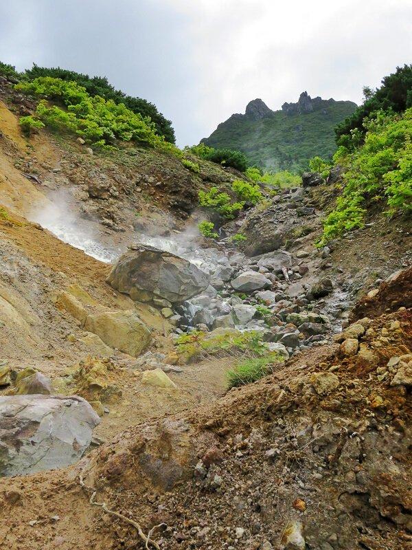 Кунашир. Часть 4: вулкан Менделеева путешествия, факты, фото
