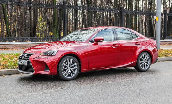 Тест-драйв: Lexus IS 300