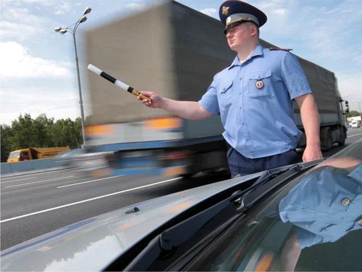 На каком максимальном расстоянии от гаишника водитель должен остановить машину авто и мото,автоновости,Россия,советы