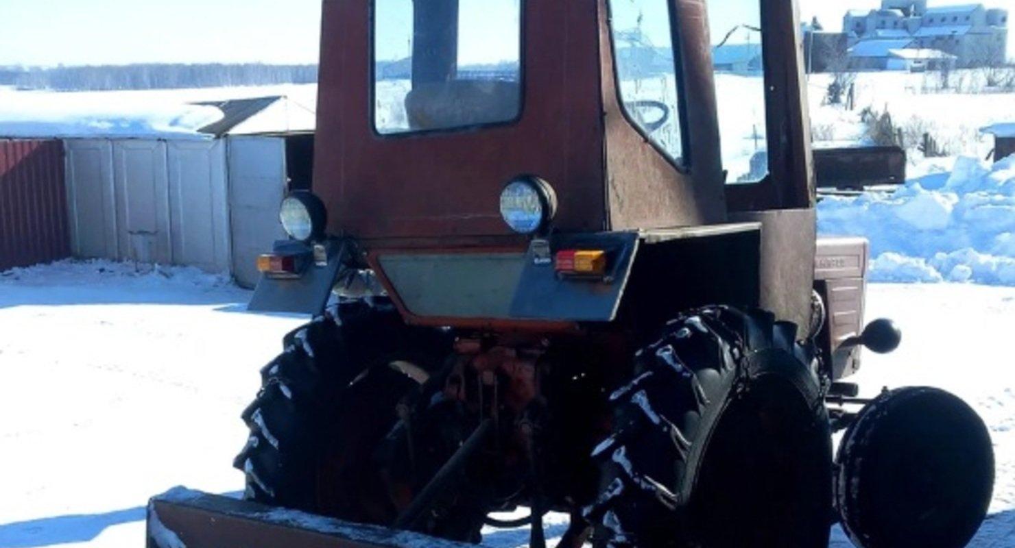 Как простым способом завести трактор Т-25 в мороз? Автомобили