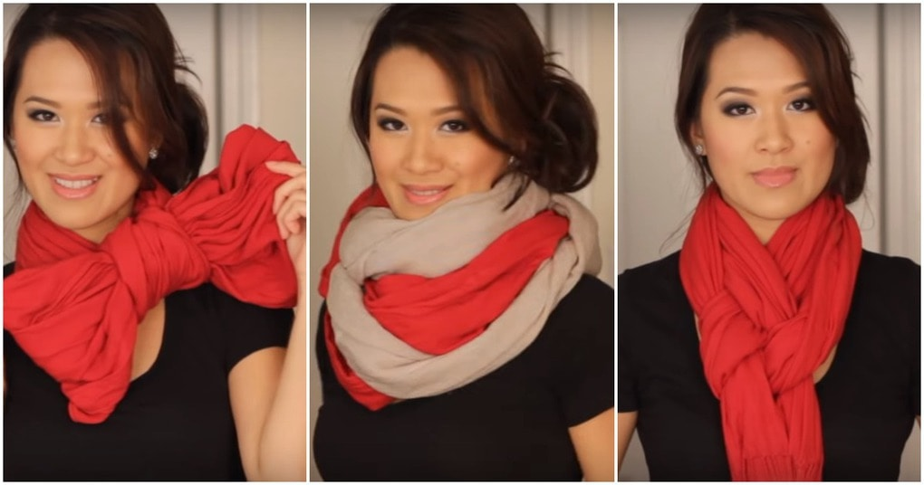 Несколько интересных способов завязать шарф — стильное дополнение к образу