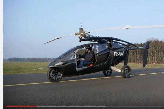 Голландская компания открыла предзаказ на летающие автомобили