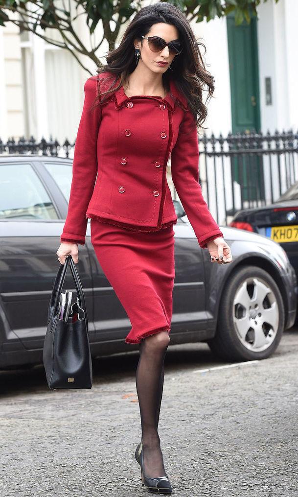 Берём на заметку — секреты делового стиля от Амаль Клуни