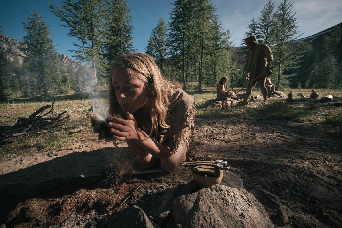 Назад в палеолит: охотники-собиратели 21-го века в фотопроекте «Живущие дикими» 20