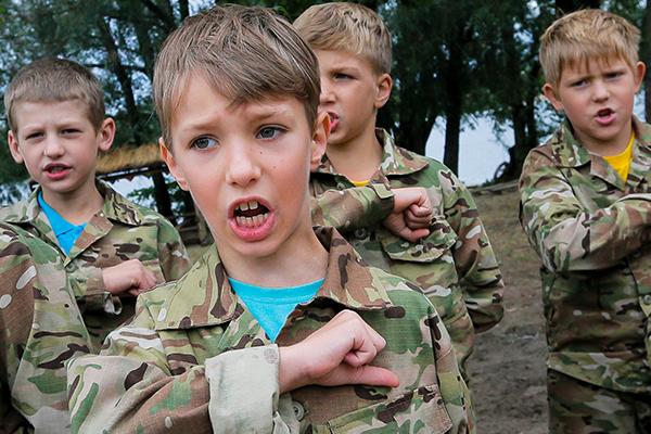 Юные герои Украины