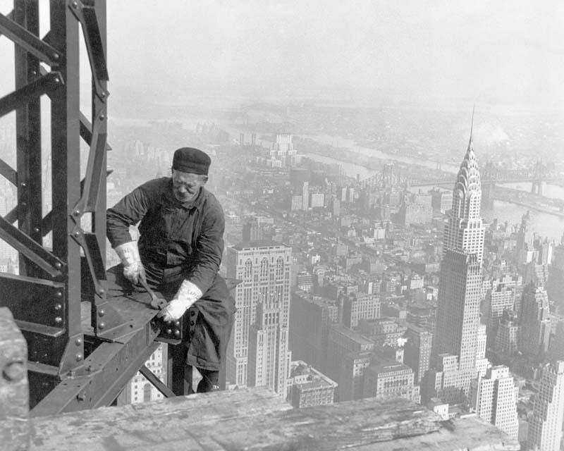 Cамые впечатляющие кадры жизни американских рабочих начала XX века