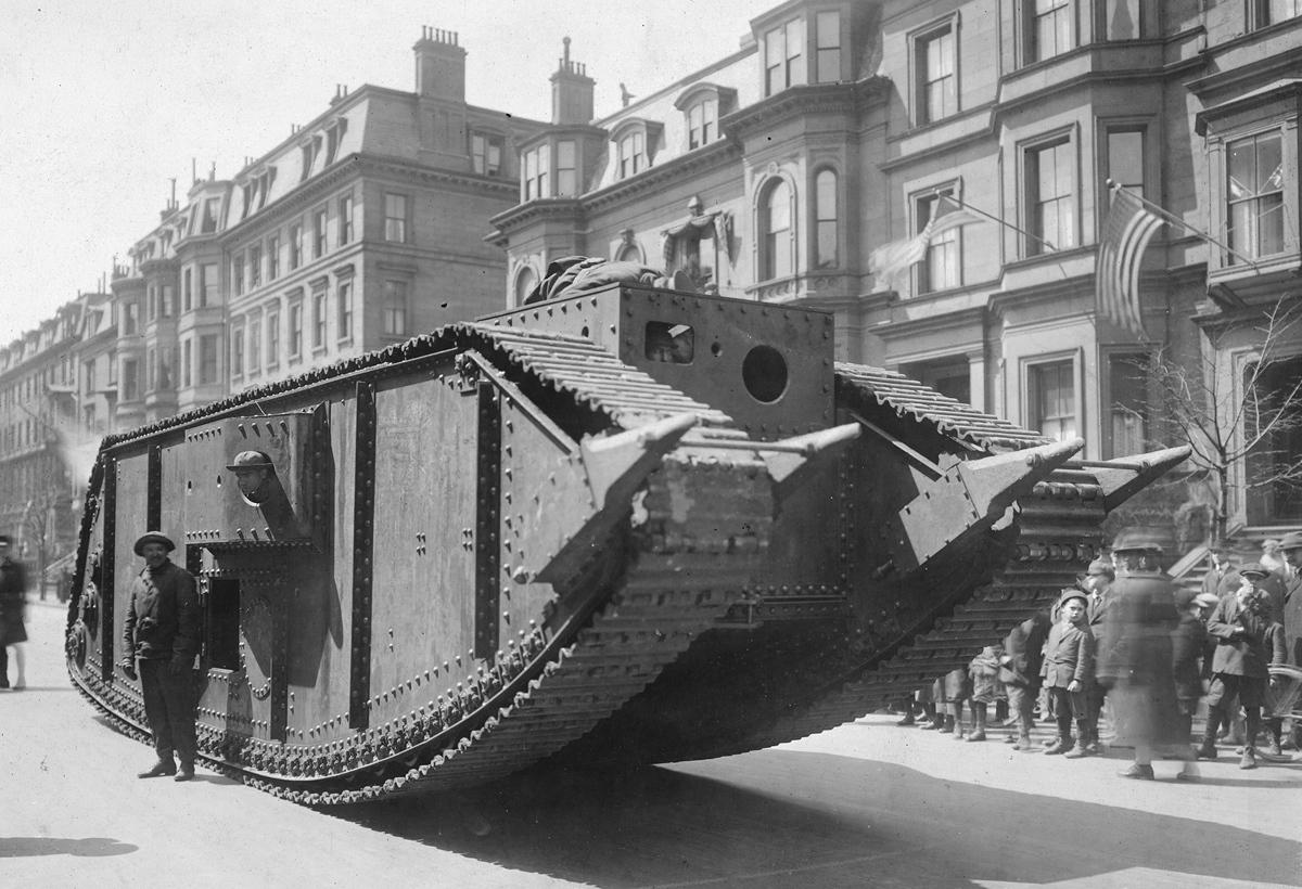 Сто лет назад – 6 апреля 1917  США вступили в Первую Мировую войну : архивные фото