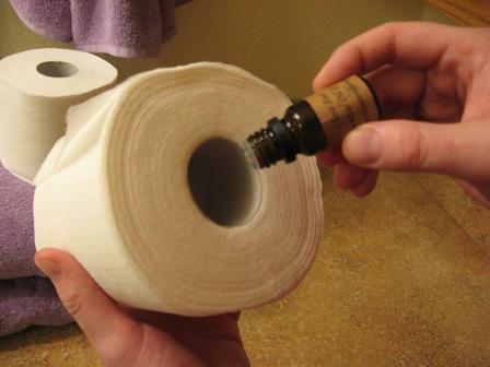 Освежитель воздуха в туалете